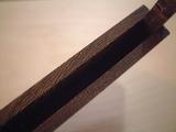 金具不使用本鉄刀木(タガヤサン)木製名刺ケース(名刺入れ) 木口