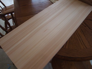 木曽桧柾目幅接ぎ 1