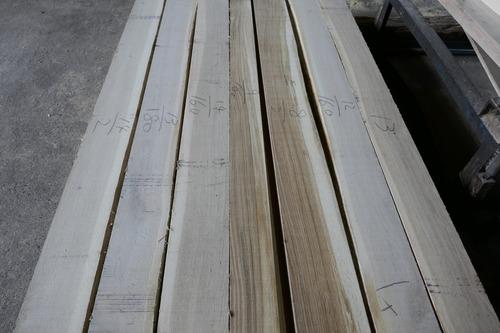 日本の楢(なら)乾燥無垢材 6