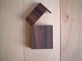 縞黒檀木製名刺ケース(名刺入れ)