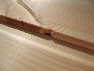 北洋赤松(レッドパイン)無垢一枚物羽目板 6