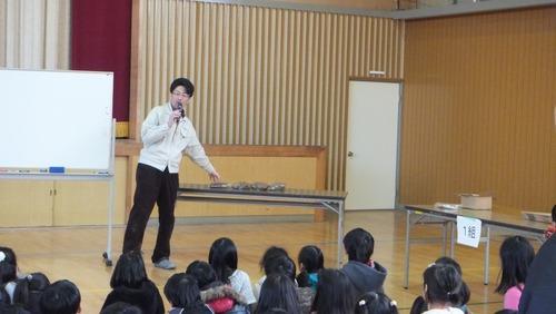 戸田先生出張授業2