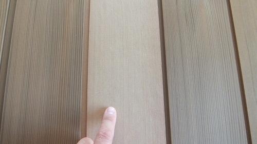 米杉(レッドシダー)無垢一枚物羽目板(定尺) 4