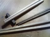 貴重な木の箸達