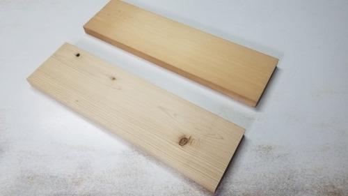 木目の詰まった材は強いのか?! 1