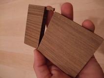 金具不使用リグナムバイタ木製名刺ケース(名刺入れ) 5