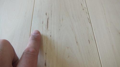 白樺(シラカバ)幅広無垢一枚物フローリング 3