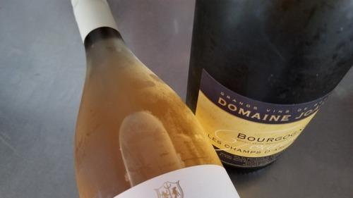 オレンジワインと杉板 2