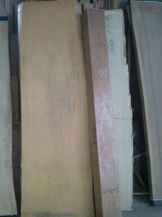 木の机用材