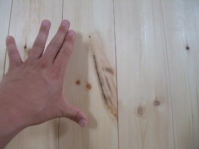 北洋赤松(レッドパイン)無垢フローリング 施工8