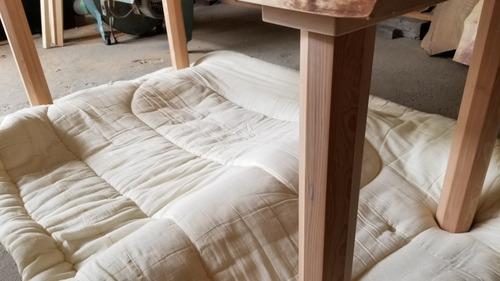 栃純白テーブル 2