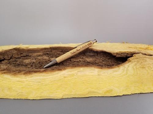 ジェットストリーム芯対応ノック式木製ボールペン〜木輪 kowa〜5