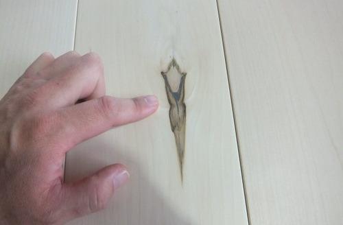 欧州楓(ヨーロピアンメープル)幅広無垢一枚物フローリング 9
