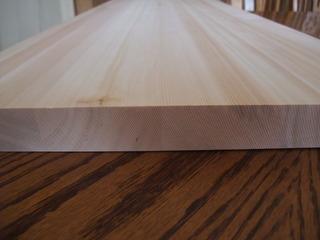 木曽桧柾目幅接ぎ 3