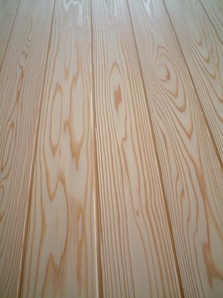 杉純白浮造り羽目板 4