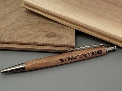ジェットストリーム芯対応ノック式木製ボールペン〜木輪 kowa〜3