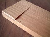 開いてきたタモ木製名刺ケース1