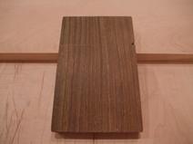 金具不使用リグナムバイタ木製名刺ケース(名刺入れ)