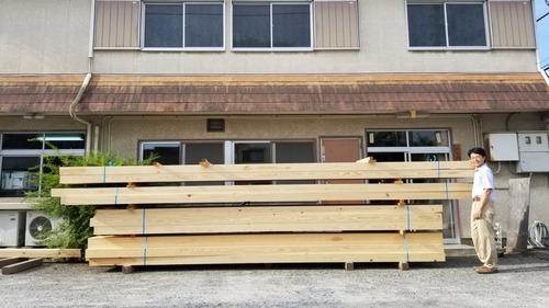 地松(赤松)乾燥構造平角 10