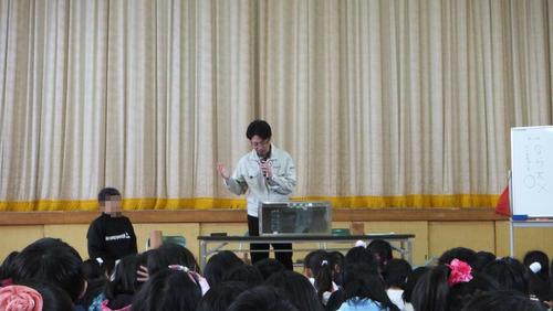 戸田先生出張授業4