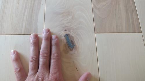 清涼樺(かば)幅広無垢一枚物フローリング 7