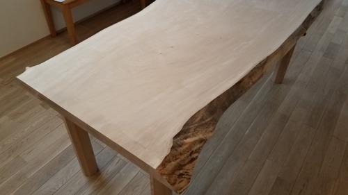 栃純白テーブル 5