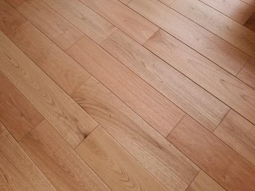 ノルデストウォールナット(クルミ・胡桃)幅広無垢つなぎ目V溝 10