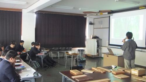 戸田先生の伐採授業 2018-1