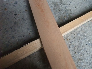 木裏加工の表側(木裏)