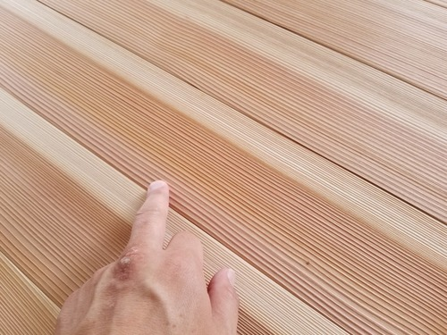 高樹齢! 百年杉柾浮造りフローリング 7