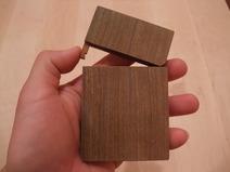金具不使用リグナムバイタ木製名刺ケース(名刺入れ) 4