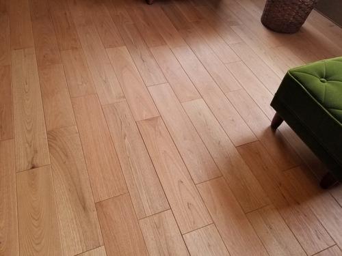 ノルデストウォールナット(クルミ・胡桃)幅広無垢つなぎ目V溝 9