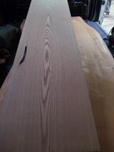 木曽桧無垢一枚物天板とキハダ無垢一枚物板嫁入り写真 2