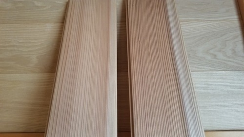 百年杉柾浮造りフローリング