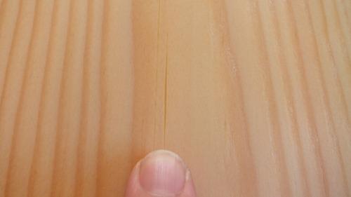 石州赤松幅広無垢一枚物フローリング11