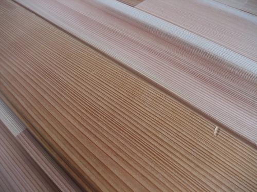 百年杉柾浮造り 時間経過での艶の出方2