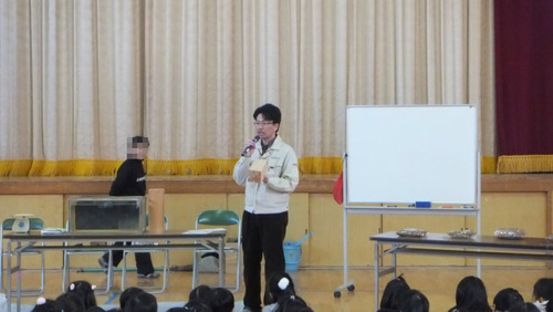 戸田先生出張授業1