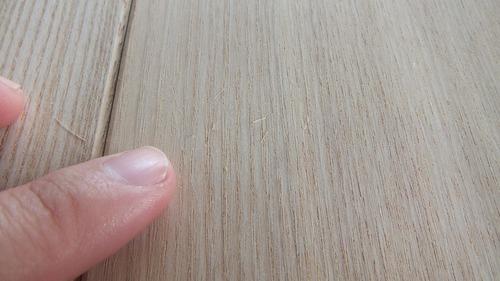 清涼たも(せいりょうたも)柾目幅広無垢一枚物フローリング9