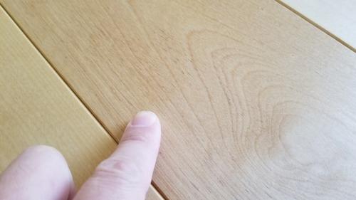 ロシアンバーチ幅広無垢つなぎ目V溝フローリング プルミエ 10