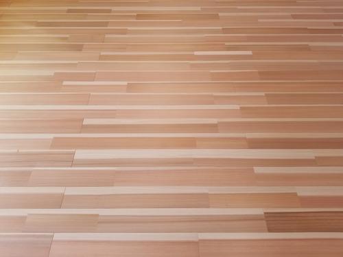 高樹齢! 百年杉柾浮造り(うづくり)無垢フローリング 個室施工 1
