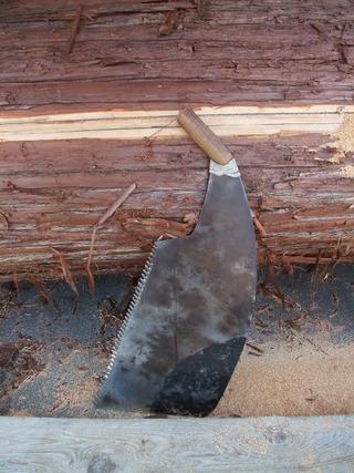 木挽き 1