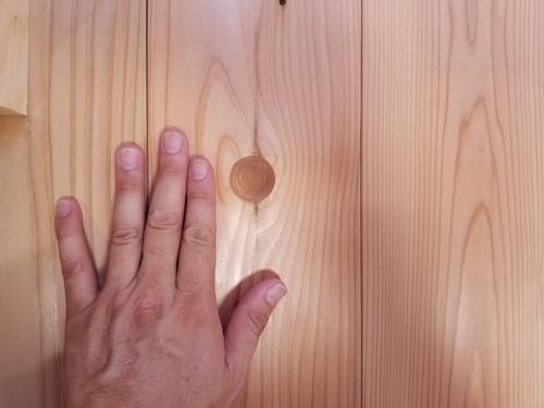 杉 埋め節フローリング 5