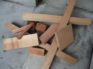 本物の積み木用材