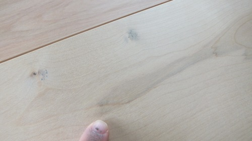 清涼樺(かば)幅広無垢一枚物フローリング 10