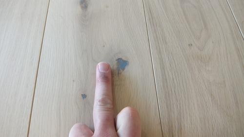 清涼楢(なら)幅広無垢一枚物フローリング 5