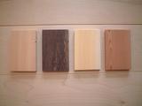第三期木製名刺ケース製作樹種一覧