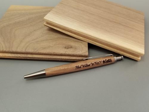 ジェットストリーム芯対応ノック式木製ボールペン〜木輪 kowa〜4