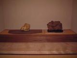 珪化木 床飾り