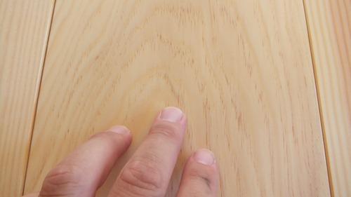 石州赤松幅広無垢一枚物フローリング10