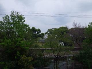 堤防からの眺め